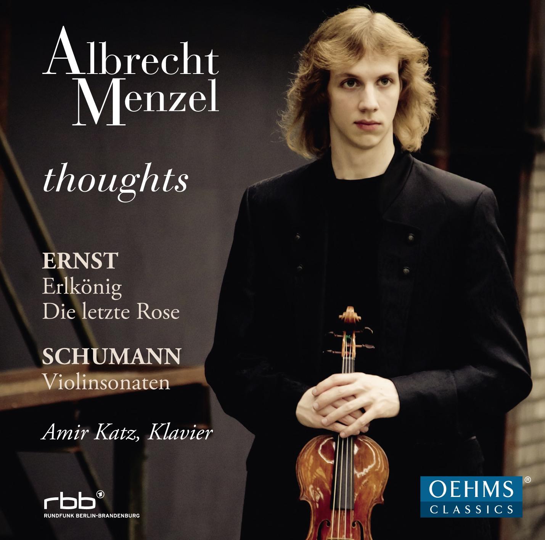 Albrecht Menzel-Cover Schumann Ernst